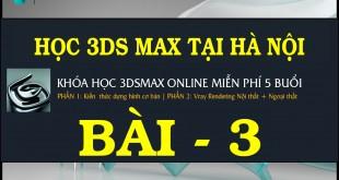 HUONG DAN DUNG HINH CO BAN TRONG 3DS MAX